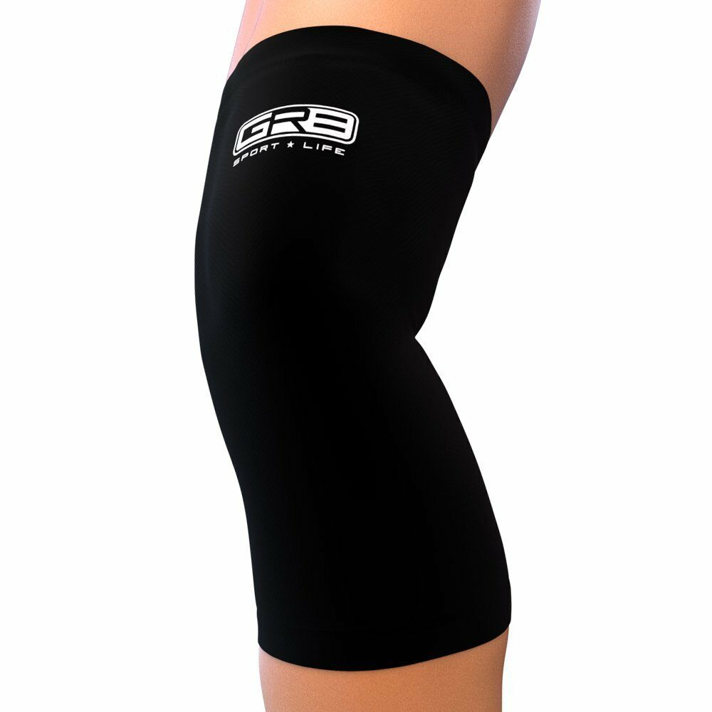 Knee Sleeve Compression Brace Support Sport Joint Pain Arthritis Relief 1or 2pk