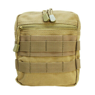 Design Carrying Pouch Case (Tactical MOLLE G.P Pouch Carrying Case PALS Multi-Purpose Pouch -TAN )