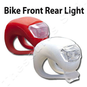 RED-WHITE-2-LED-MOUNTAIN-BIKE-BICYCLE-FRONT-REAR-LIGHTS-SET-CYCLE-LIGHT-CLIP