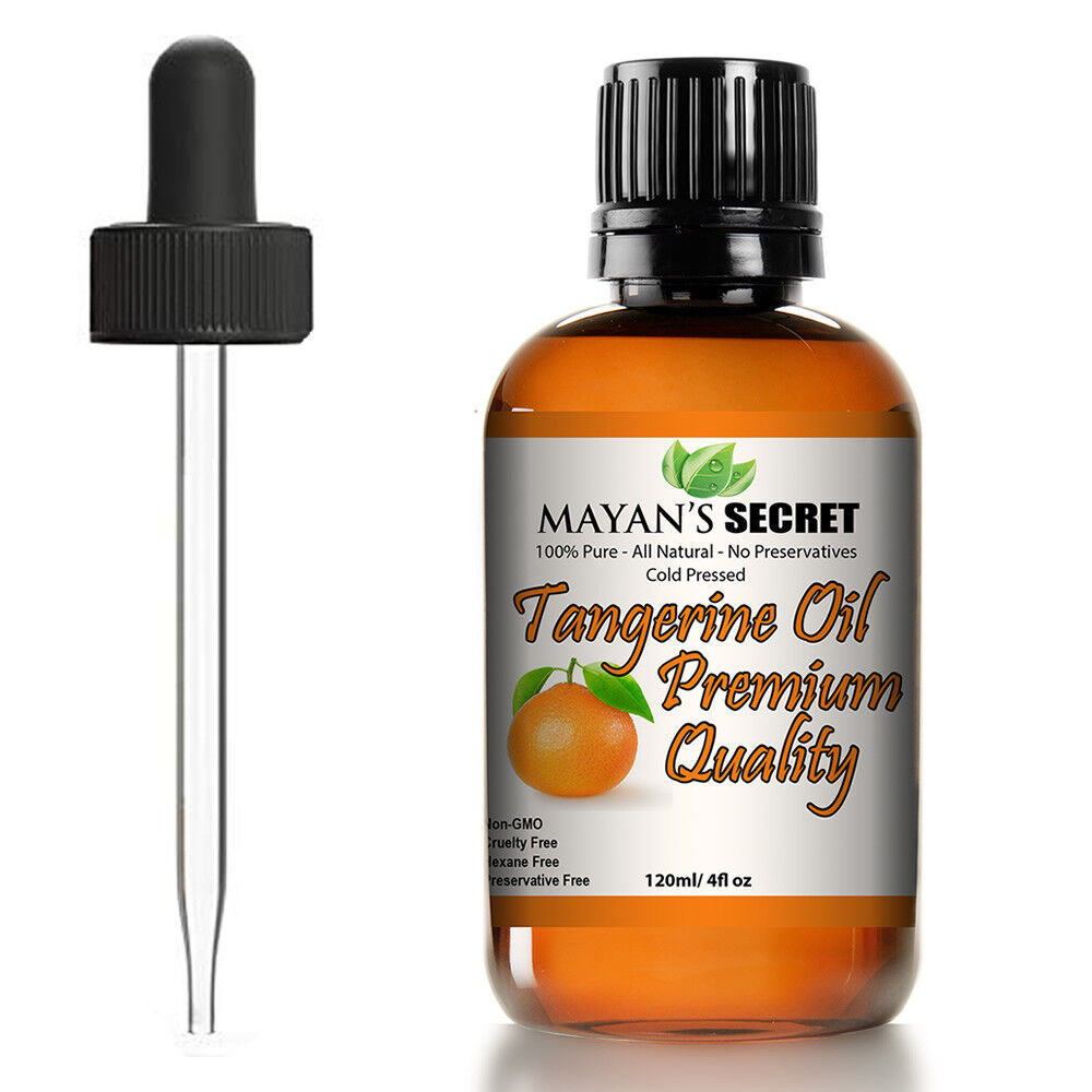 100% Pure Virgin Tangerine , Best Therapeutic Grade Essential Huge 4 ouces Aromatherapy