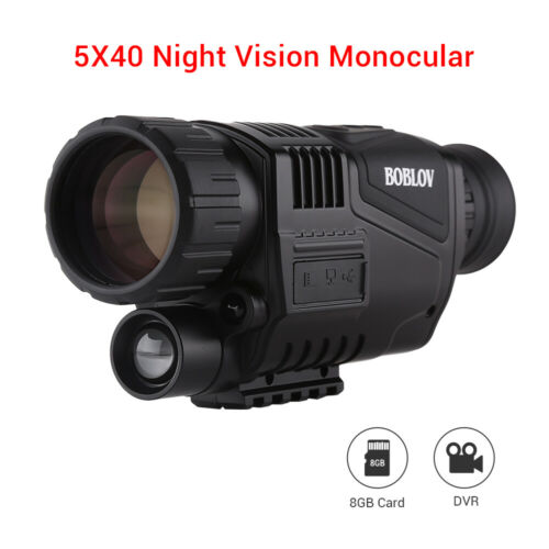 5x40 Infrared IR Night Vision Digital Video Camera Monocular Scope Telescope USA