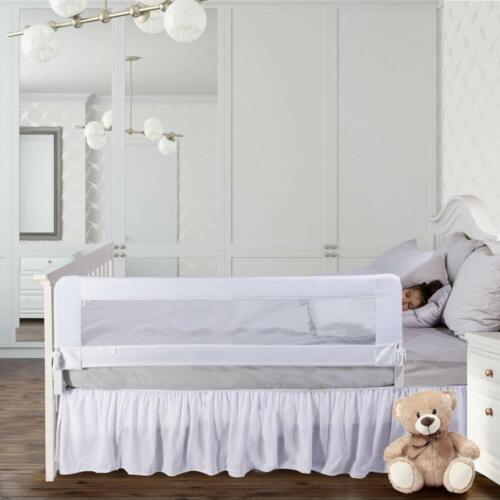 ComfyBumpy Bed Rails for Toddlers White XL