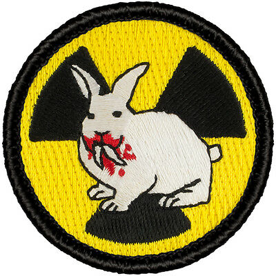 Great Boy Scout Patches -(#630) Nuclear Killer Rabbit  Patrol Patch!!