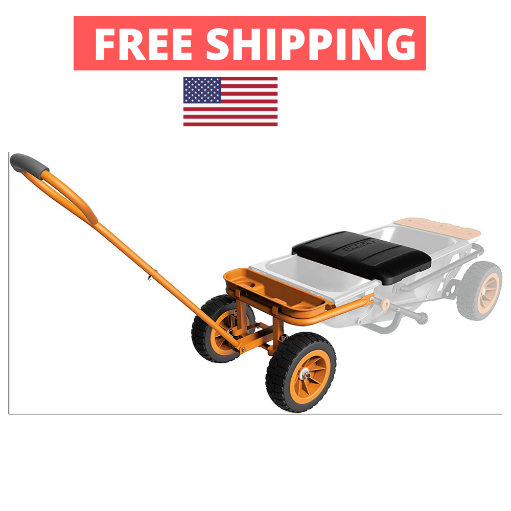 Garden Wagon Cart Attachment Kit Seat Multi Use Outdoor Tool