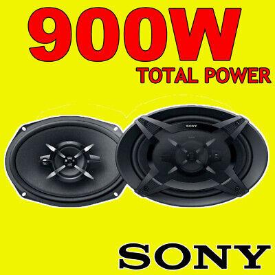 Sony XS-FB6930 6x9 3-Way Car Door Coaxial Parcel Shelf Speakers 900W Total...