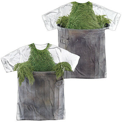 SESAME STREET OSCAR THE GROUCH COSTUME Halloween Adult Men's Tee Shirt SM-3XL](Adult Oscar The Grouch Costume)