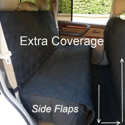Pet Truck Van SUV Car Seat Cover Dog  Back Rear Bench Mat Pad Quitlted Coverage Padded Pet Cover