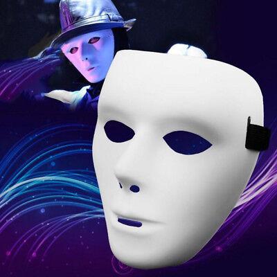Einfach Weiß # Maske Plastik Kostüm Halloween Zubehör - Einfache Halloween Kostüm