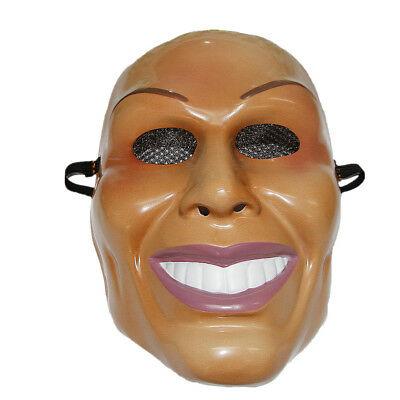 The Purge Smile Mask (The Purge Mask Grin Halloween Film Movie Horror (Male Design) Smiling Man)