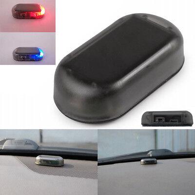 Fake Solar Auto Car Alarm Led Light Security System Warning Theft Flash Blinking