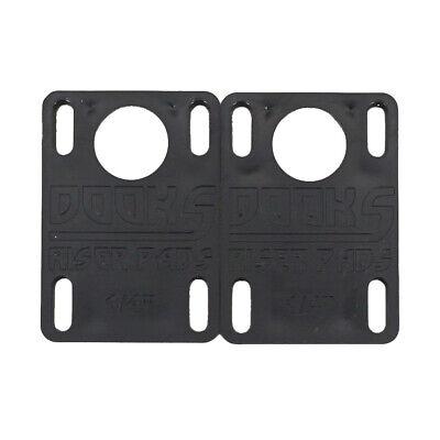 "1//8 inch Details about  /Shortys DOOKS  Skateboard Riser Pads /""Wheel Bite Repellent/"""