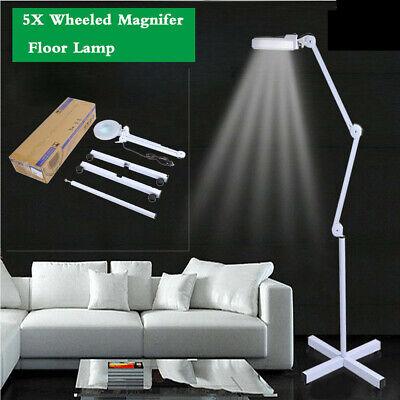 LED Lampada d'ingrandimento Desk Magnifying Lamp Per Cosmetica Salone Bellezza