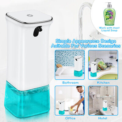 Auto Hand Washer Soap Dispenser Induction Foaming Wash Automatic 280ml -YY