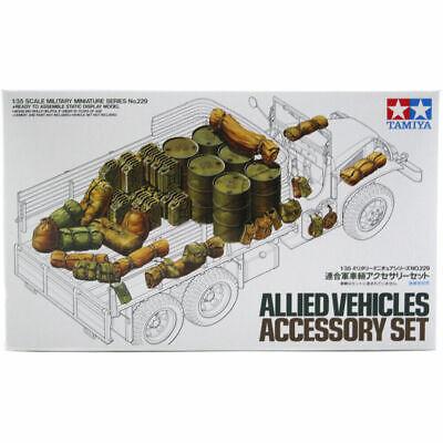 TAMIYA 35229 Allied Vehicles Accessory Set 1:35 Military Model Kit