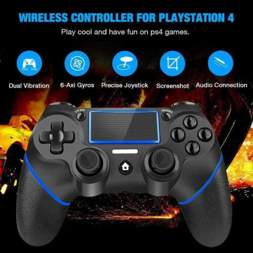 Wireless Controller für PlayStation 4 Dual Vibration Touchpanel Gamepad Joypad