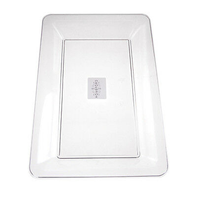 Clear Plastic Serving Tray Party Supplies - Clear Plastic Serving Trays