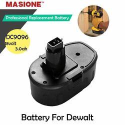 New 18V 3.0AH NiMH Battery for DEWALT DE9503 DW9096 DW9098 18 VOLT Cordless Tool