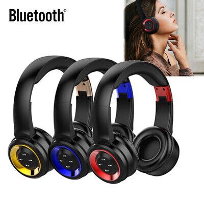 Faltbar Bluetooth4.2 Kopfhörer Headset Kabellos Musik Handy sport In-Ohr Headset Musik-handy