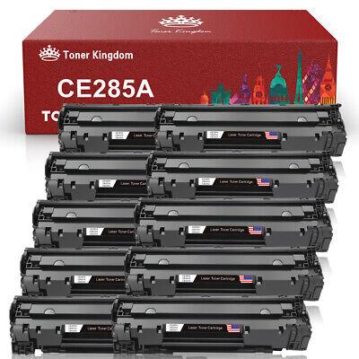 10 PCS CB435A 35A Black Laser Toner For HP Laserjet M1212nf P1102 P1102w (Hp 35a Laserjet)
