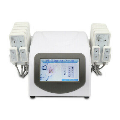 14 Laser Pads Lipolysis Body Slimming Beauty Machine Fat Removal Lipo Massage