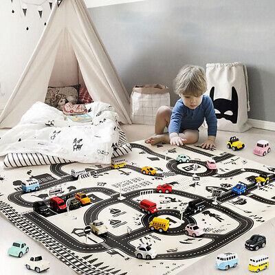 Floor Play Mat Rug Kids Toddler Baby Crawling Indoor Activity Game Mat Carpet