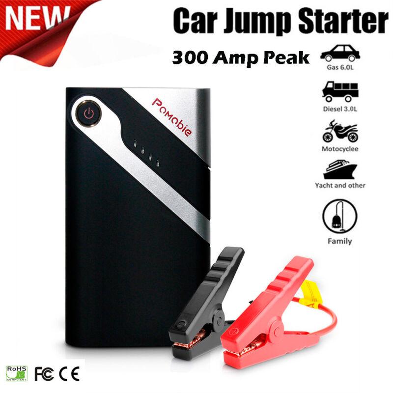 Hot Bolt Power K10 300 Amp Peak With 6000mAh Portable Car Battery Jump Starter