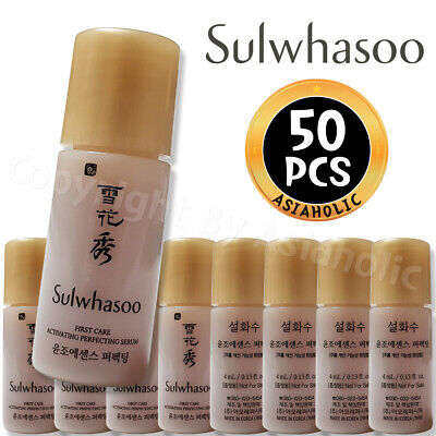 Sulwhasoo First Care Activating Perfecting Serum 4ml x 50pcs (200ml) Sample New