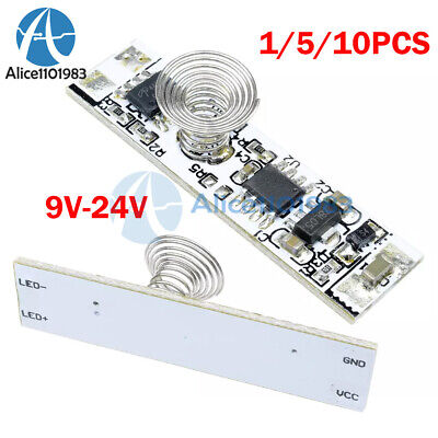 1-10pc 9v-24v 30w Touch Switch Capacitive Sensor Modul Led Dimming Control Board