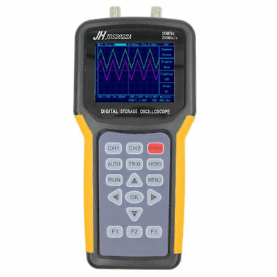 Jds2022a Handheld Digital Oscilloscope 2ch 20mhz 200msas Scope Meter Multimeter