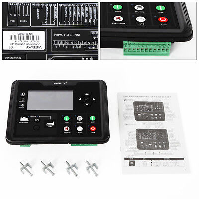 Generator Controller Kit Dc60d For Dieselgasolinegas Genset Parameters Monitor