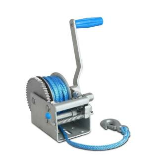 FREE MEL DEL-3 Speed Hand Winch 2000kg with 10m Dyneema Rope Melbourne CBD Melbourne City Preview