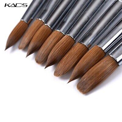 Kolinsky Acrylic Nail Brush Nail Art Brush UV Poly Extension Builder Gel Brush