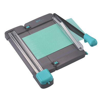 2 in 1 Guillotine & 3 Blade Rotary Trimmer KW-Trio 13080 Table Top Paper Cutter ()