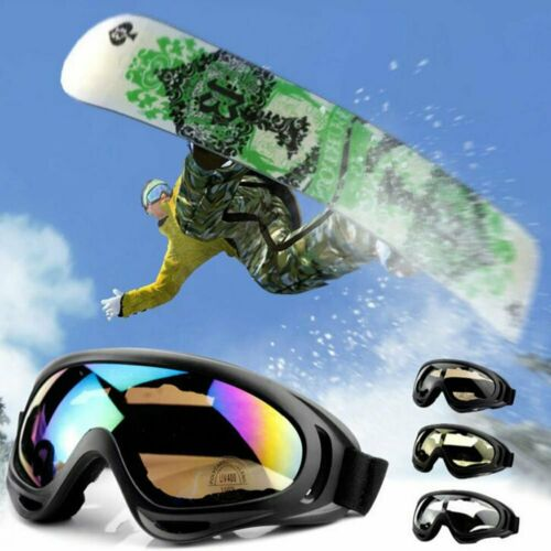 MTB Bicycle Cycling Anti-Fog Protection Goggles Snow Windproof Glasses Riding