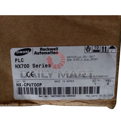 New Samsung Nx-cpu700p Plc N700 Series Cpu Unit Processor Communication Module