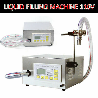 34 Bottle Min Filler Liquid Filling Machine Electric Digital Pump 1head 99999ml