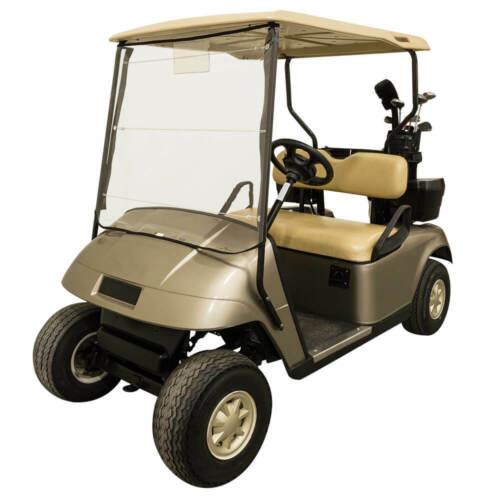 Portable Roll Up Golf Cart Universal Windshield Fits Most Club Car EZGO Yamaha