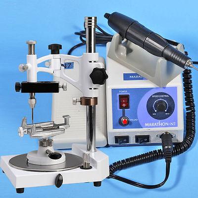 Dental Parallel Surveyor W Marathon Polisher Micromotor 35k Rpm Handpiece