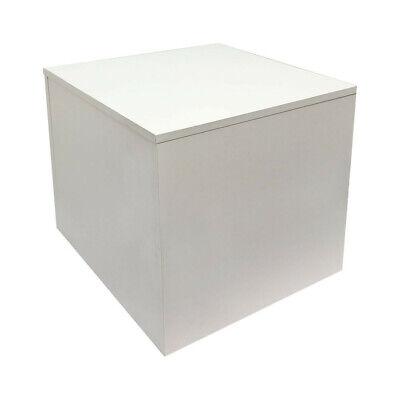 18 X 18 Knockdown Base Box Display Fixture Retail Warehouse - White
