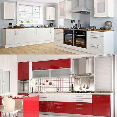 5m Roll Kitchen Cabinet Refacing Film High Gloss Vinyl