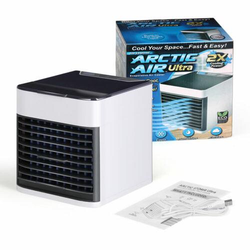 Portable Air Conditioner Cooler Small Mini 3 Modes & 7 Color