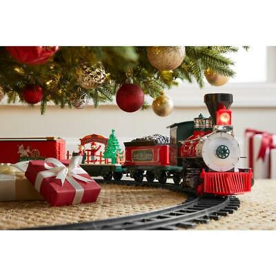 North Pole Express Christmas Train Set Remote Control for Christmas Holiday gift