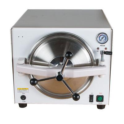Dental Portable 18l Autoclave Medical Steam Sterilizer Dental Lab Equipment D15