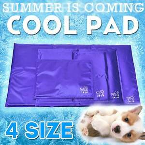 Non Toxic Dog Cat Cool Gel Mat Summer Bed Cooling Dog Bed Pad Mordialloc Kingston Area Preview