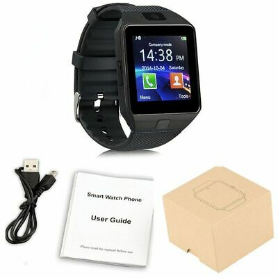 DZ09-Bluetooth-Smart-Watch-Phone-Mate-GSM-SIM-For-Android-iPhone-Samsung(BLACK)