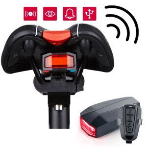 4 In 1 Bicycle Bike Security Lock Wireless Alarm Anti-theft Remote Control