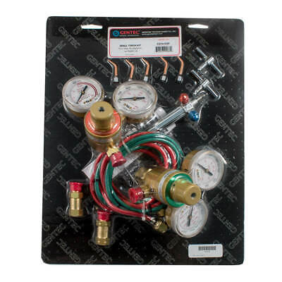 Gentec Small Torch Kit Oxyacetylene Wtip2-6 And Regulators - 14-510