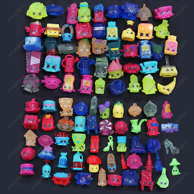 100x SHOPKINS SEASON 1 2 3 4 5 6 7 8 MINI TOYS POKEMON DOLL NEW YEAR KIDS GIFT