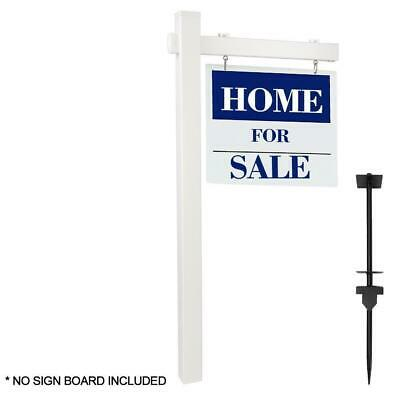 Pvc Real Estate Sign Post 6ft Tall 4x 4x 72 Realtor Home Office Sign