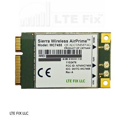 Sierra Wireless Mc7455  3G 4G Lte Lte A  Cat6 Fdd Tdd Gnss Mini Pci E Modem Card